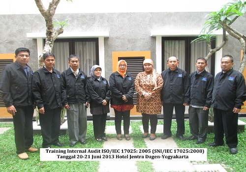 Training Audit Internal ISO 17025 – Persyaratan Akreditasi Laboratorium Penguji dan Kalibrasi ISO/IEC 17025