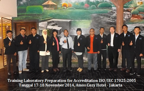 Training ISO 17025 – Laboratory Preparation for Accreditation ISO/IEC 17025:2005 (SNI/IEC 17025:2008)