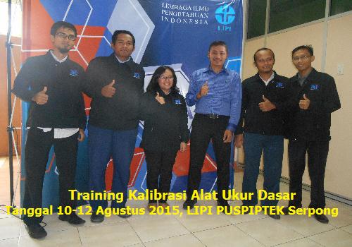Training Kalibrasi Alat Ukur Dasar