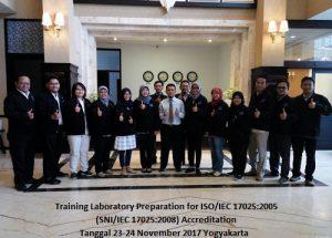 Training ISO 17025 – Laboratory Preparation for Accreditation ISO/IEC 17025:2017 (15-16 Agustus 2018 Yogyakarta)